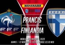 Prediksi Prancis vs Finlandia 12 November 2020