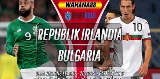 Prediksi Republik Irlandia vs Bulgaria 19 November 2020