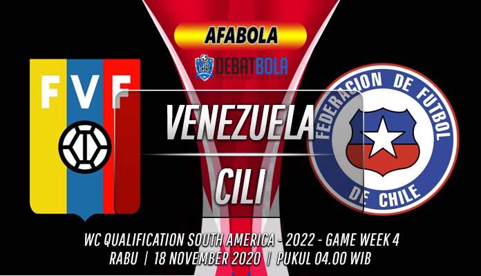 Prediksi Venezuela vs Chile 18 November 2020
