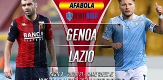Prediksi Genoa vs Lazio 4 Januari 2021