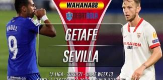 Prediksi Getafe vs Sevilla 12 Desember 2020