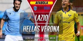 Prediksi Lazio vs Hellas Verona 13 Desember 2020
