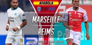 Prediksi Marseille vs Reims 20 Desember 2020