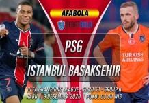 Prediksi PSG vs Istanbul Basaksehir 9 Desember 2020