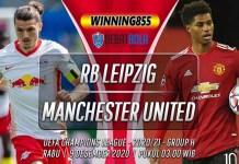 Prediksi RB Leipzig vs Manchester United 9 Desember 2020