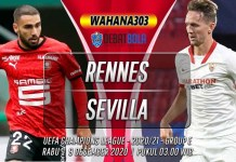 Prediksi Rennes vs Sevilla 9 Desember 2020