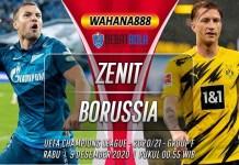 Prediksi Zenit vs Borussia Dortmund 9 Desember 2020