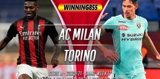 Prediksi AC Milan vs Torino 10 Januari 2021
