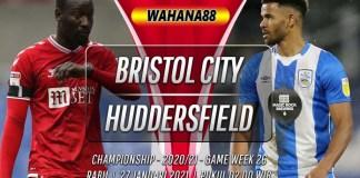 Prediksi Bristol City vs Huddersfield Town 27 Januari 2021