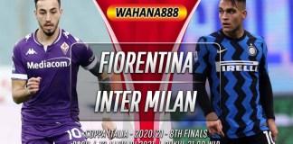 Prediksi Fiorentina vs Inter Milan 13 Januari 2021