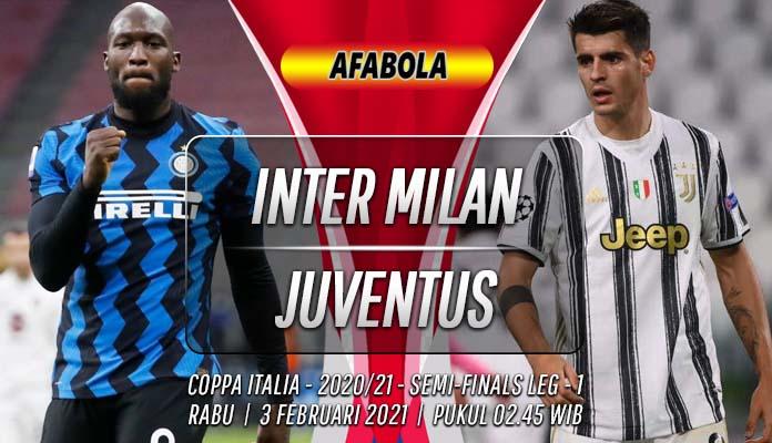Prediksi Inter Milan vs Juventus 3 Februari 2021
