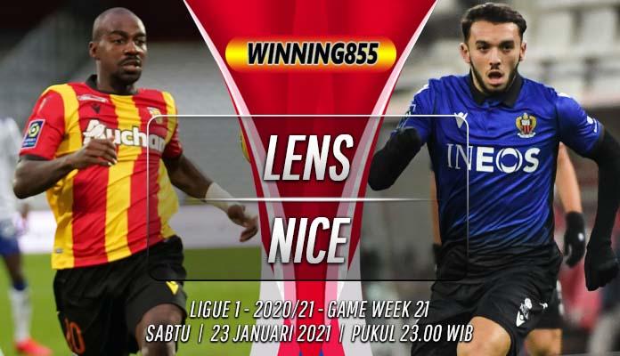 Prediksi Lens vs Nice 23 Januari 2021
