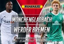 Prediksi Monchengladbach vs Werder Bremen 20 Januari 2021