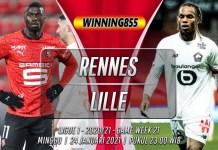 Prediksi Rennes vs Lille 24 Januari 2021