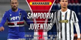 Prediksi Sampdoria vs Juventus 31 Januari 2021