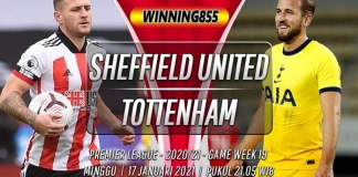 Prediksi Sheffield United vs Tottenham Hotspur 17 Januari 2021