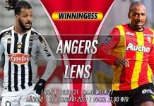 Prediksi Angers vs Lens 28 Februari 2021