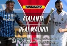 Prediksi Atalanta vs Real Madrid 25 Februari 2021