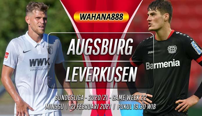 Prediksi Augsburg vs Bayer Leverkusen 21 Februari 2021