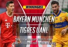 Prediksi Bayern Munchen vs Tigres UANL 12 Februari 2021