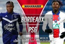Prediksi Bordeaux vs PSG 4 Maret 2021