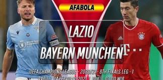 Prediksi Lazio vs Bayern Munchen 24 Februari 2021