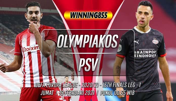 Prediksi Olympiakos vs PSV 19 Februari 2021