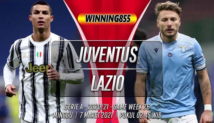 Prediksi Juventus vs Lazio 7 Maret 2021