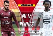Prediksi Metz vs Rennes 20 Maret 2021