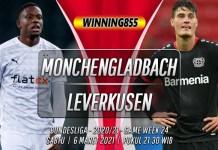 Prediksi Monchengladbach vs Bayer Leverkusen 6 Maret 2021
