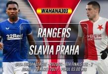 Prediksi Rangers vs Slavia Praha 19 Maret 2021