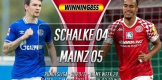 Prediksi Schalke 04 vs Mainz 05 6 Maret 2021