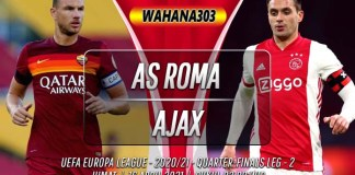 Prediksi AS Roma vs Ajax 16 April 2021
