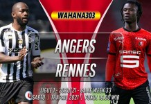 Prediksi Angers vs Rennes 17 April 2021