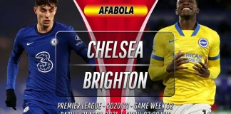 Prediksi Chelsea vs Brighton 21 April 2021