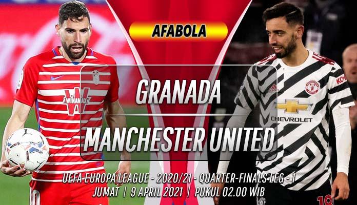 Prediksi Granada vs Manchester United 9 April 2021