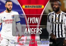 Prediksi Lyon vs Angers 12 April 2021