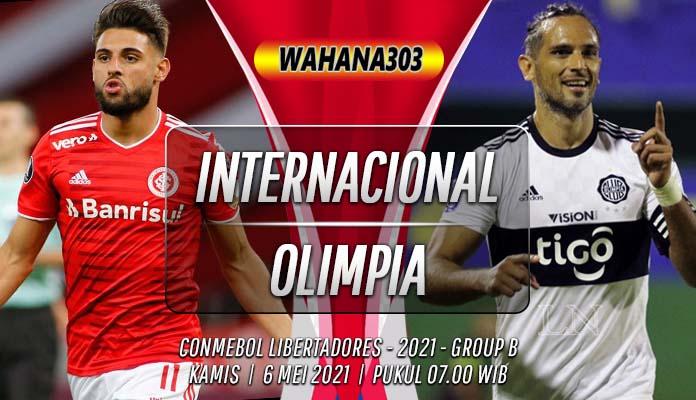 Prediksi Internacional vs Olimpia 6 Mei 2021
