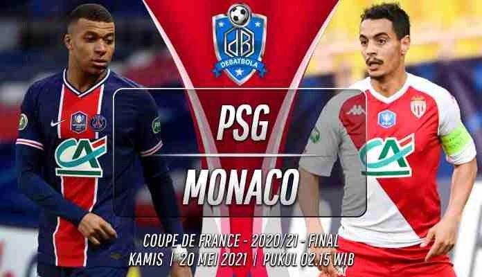 Prediksi PSG vs Monaco 20 Mei 2021