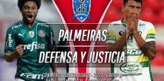 Prediksi Palmeiras vs Defensa y Justicia 19 Mei 2021