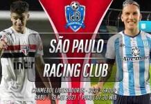 Prediksi São Paulo vs Racing Club 19 Mei 2021