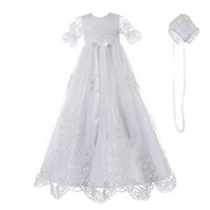 vestido para niñas bordado