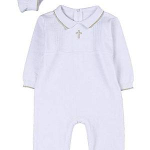 vestido para niño bautizo