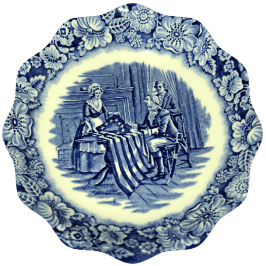Set a Presidents Day Table with Liberty Blue - Debbee's Buzz