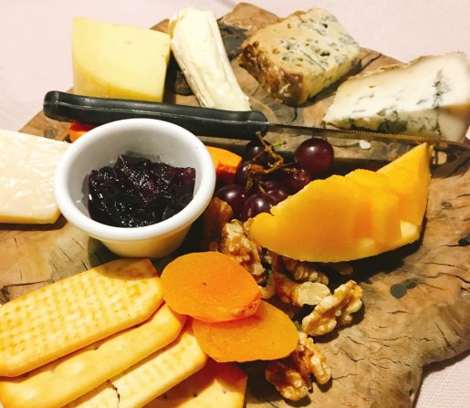 Notre Dame - Jerusalem - Not Kosher - Cheese Board