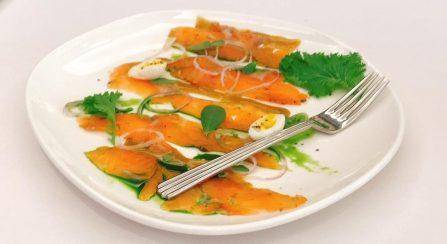 Smoked Salmon - Chloelys HIlton Tel Aviv - Kosher