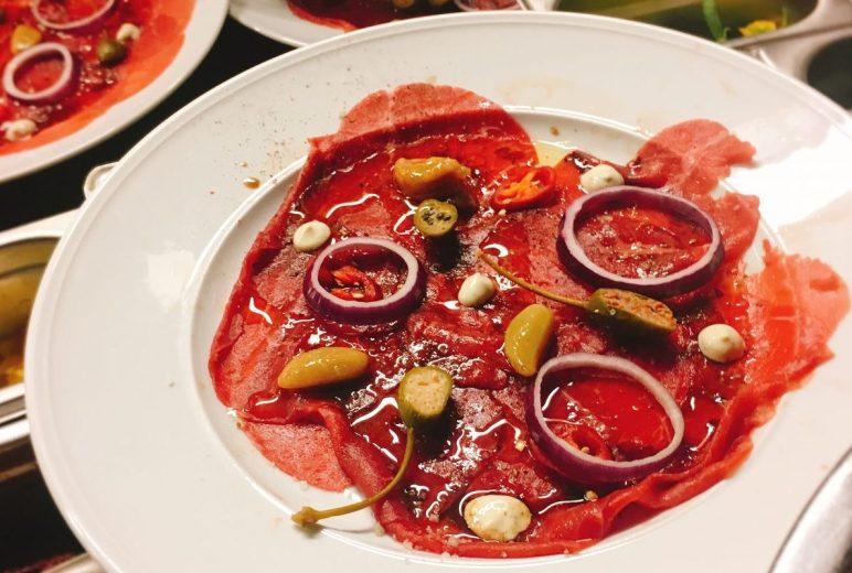 West Side - Kosher - Tel Aviv - Beef Carpaccio