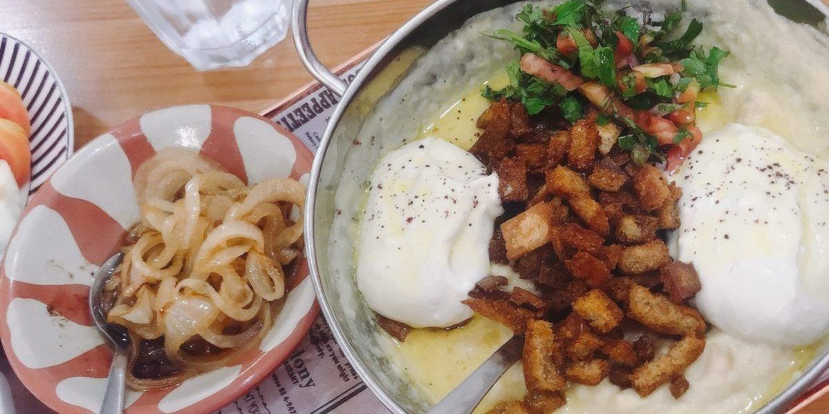 Hummus Fatteh.HummusAlsham.WadiNisnas.Haifa