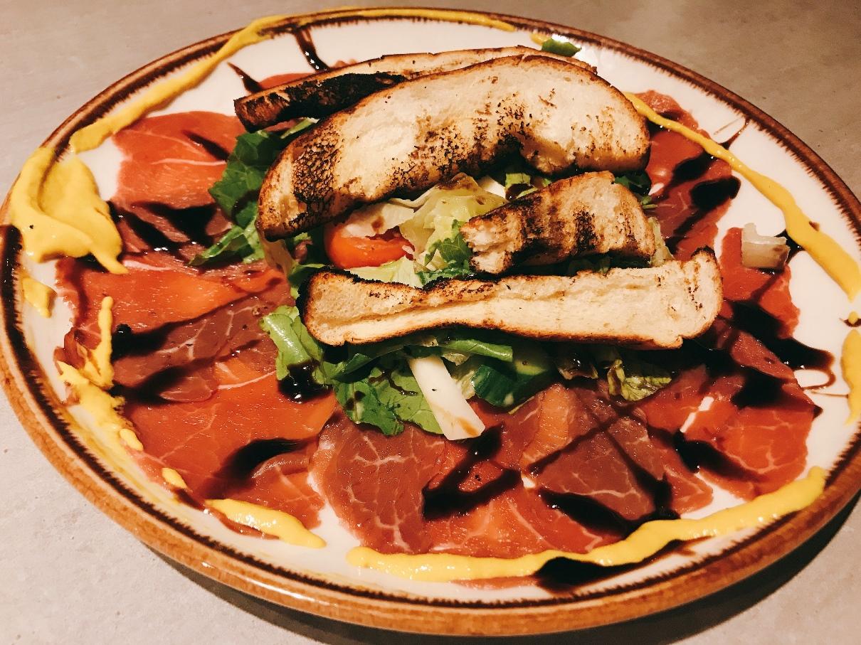 Sogo Bar - Nahariya - Kosher - Beef Carpaccio
