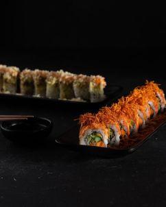 Jiro Sushi Tel Aviv - Not Kosher - Sushi Rolls